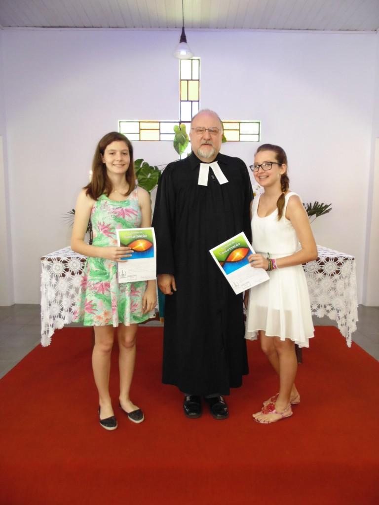 Laura Becker Ramos e Lidia Bobsin